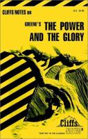 Cover image for Cliffs notes on Greene's The power and the glory