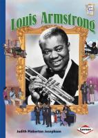 Cover image for Louis Armstrong