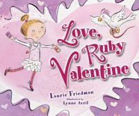 Cover image for Love, ruby valentine