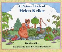 Cover image for A picture book of Helen Keller