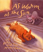 Cover image for As warm as the sun