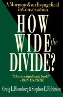 Cover image for How wide the divide? : a Mormon & an Evangelical in conversation