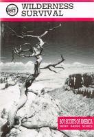 Cover image for Wilderness survival : Merit badge series
