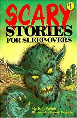 Cover image for Scary stories for sleep-overs