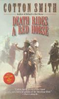 Cover image for Death rides a red horse