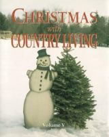 Cover image for Christmas with Country living.