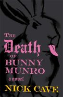 Cover image for The death of Bunny Munro