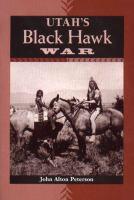 Cover image for Utah's Black Hawk War