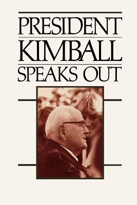 Cover image for President Kimball speaks out