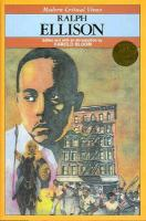 Cover image for Ralph Ellison : Modern critical views