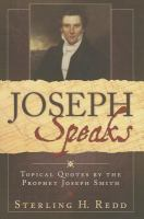 Cover image for Topical quotes of the prophet Joseph Smith