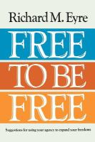 Cover image for Free to be free