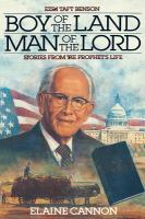 Cover image for Boy of the land, man of the Lord