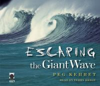 Cover image for Escaping the giant wave