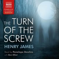 Cover image for The turn of the screw [sound recording CD]