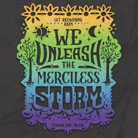 Cover image for We unleash the merciless storm. bk. 2 [sound recording CD] : We set the dark on fire series
