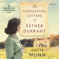 Imagen de portada para The forgotten letters of Esther Durrant [sound recording CD]