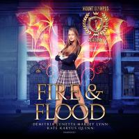 Imagen de portada para Fire & flood. bk. 1 [sound recording CD] : Mount Olympus Academy series