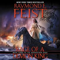 Imagen de portada para Rage of a demon king. bk. 3 [sound recording CD] : Serpentwar saga series