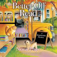 Cover image for Better off read. bk. 1 [sound recording CD] : Bookmobile mystery series