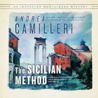 Cover image for The Sicilian method. bk. 26 [sound recording CD] : Inspector Montalbano series