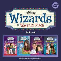 Imagen de portada para Wizards of Waverly Place. bks. 1-4 [sound recording CD].