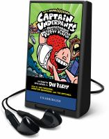 Cover image for Captain Underpants and the preposterous plight of the purple potty people. bk. 8 [Playaway] : Captain Underpants series