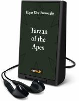 Imagen de portada para Tarzan of the apes [Playaway]