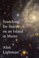 Cover image for Searching for stars on an island in Maine