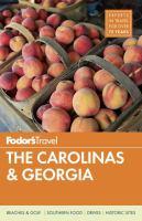 Cover image for The Carolinas & Georgia 2015 : Fodor's travel guides series