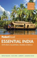 Cover image for Essential India 2015 with Delhi, Rajasthan, Mumbai & Kerala : Fodor's travel intelligence series
