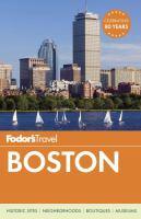 Cover image for Fodor's: Boston