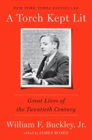 Cover image for A torch kept lit : great lives of the twentieth century