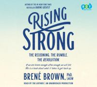 Cover image for Rising strong [sound recording CD]