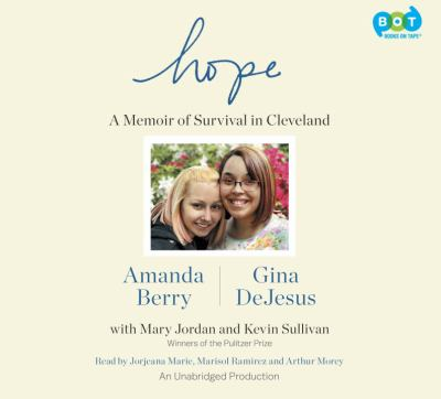 Cover image for Hope [sound recording CD] : a memoir of survival in Cleveland
