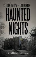 Cover image for Haunted nights : a Horror Writers Association anthology