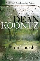 Cover image for Mr. murder