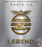 Cover image for Legend Legend Series, Book 1.