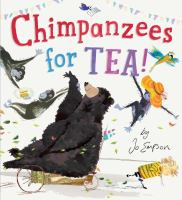 Cover image for Chimpanzees for tea!