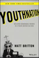 Cover image for Youthnation : building remarkable brands in a youth-driven culture