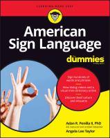 Imagen de portada para American Sign Language for dummies