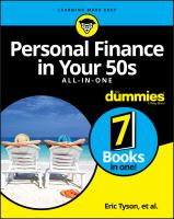 Cover image for Personal finance in your 50s all-in-one for dummies