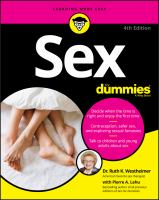 Cover image for Sex for dummies