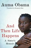 Cover image for And then life happens : a memoir