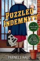 Cover image for Puzzled indemnity. bk. 16 : Puzzle Lady mystery series