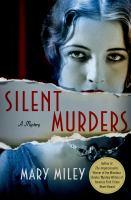 Cover image for Silent murders. bk. 2 : Roaring twenties mystery series
