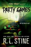 Cover image for Party games : Fear Street series