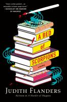 Cover image for A bed of scorpions. bk. 2 : Sam Clair series