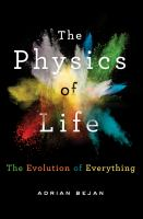 Cover image for The physics of life : the evolution of everything