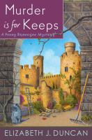 Cover image for Murder is for keeps. bk. 8 : Penny Brannigan mystery series